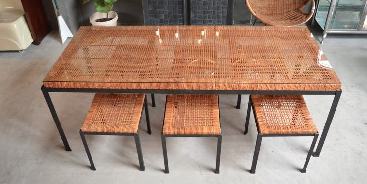 Danny Ho Fong Mid-Century Patio Set