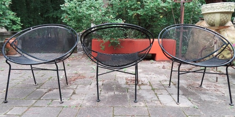 Salterini Clamshell Mid Century Chairs